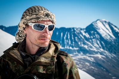 Горец портрет горы восхождение альпинизм алтай