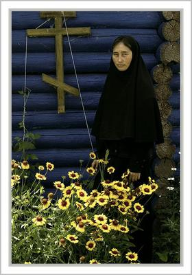 Цветы монастырские. храм, православие