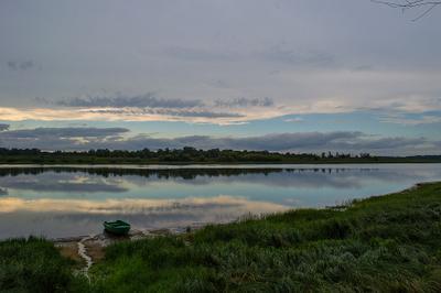 Старица река старица лодка пейзаж