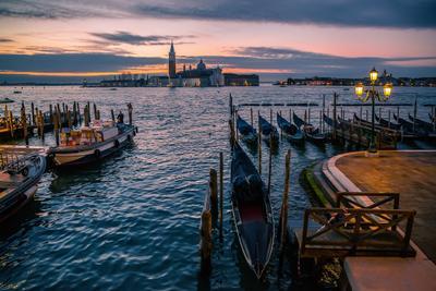 Рассвет в Венеции Венеция