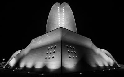 Аудиторио Тенерифе Санта-Круз ночь оперный театр
