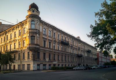 Здание на Ваське.