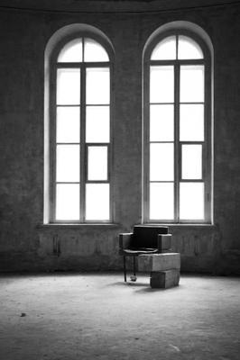 Пустота усадьба кресло окна