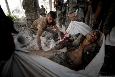 18+  Ужасы войны война репортаж Сирия
