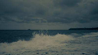Синева Море Чёрное море Абхазия Волны Берег