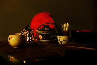 Чайная церемония двойное Солнце гайвань чабань пиала палочки мёд подсвечник Китай салфетки чайнаяцеремония желтыйчай чахэ Смоленск вечер Double Sun gaiwan teatable teabowl sticks honey candlestick China napkins teaceremony yellowtea chahe Smolensk evening