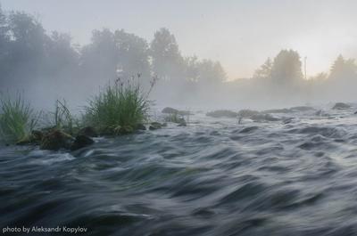 на рассвете рассвет рыбалка