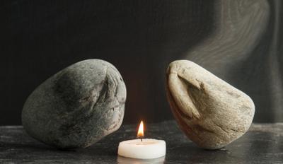 Let's talk... камни огонь свеча
