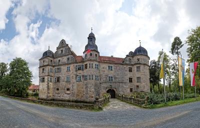 Mitwitz Wasserschloss Mitwitz Germany