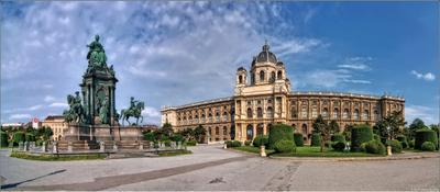 Площадь Марии-Терезии, Вена. Austria, Vein, Vienna, Wien, Österreich, Австрия, Вена