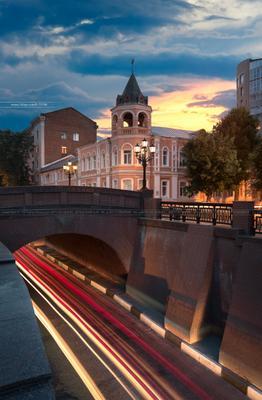 Каменный мост воронеж россия артем мирный солнце шпиль небо утро artyom mirniy voronezh свет каменный мост