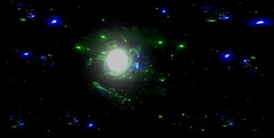 охотники в тёмном небе космос пришельцы