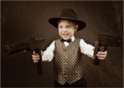 Ни чего личного, просто бизнес. Аль Капоне, мафия, гангстеры, детские фотосессии в Тольятти, семейный фотограф. фотограф