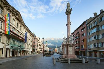 Maria-Theresien-Strasse. Innsbruck