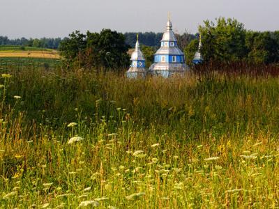 Затерянная церквушка церковь