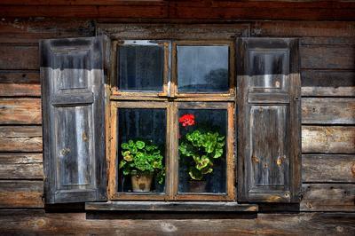 окно...