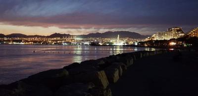 Ночной Эйлат город