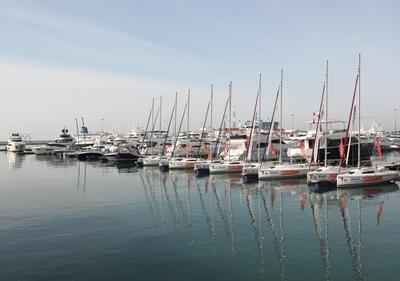 Яхты в порту Сочи Сочи Яхты