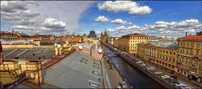 *** санкт-петербург,канал Грибоедова,храм Спаса на крови,крыши петербурга