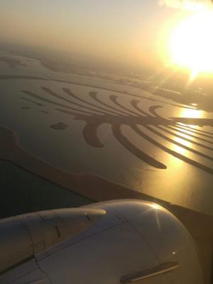 Рассвет над Дубаем...