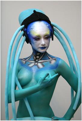 Креативный макияж креативный макияж, 5-й элемент