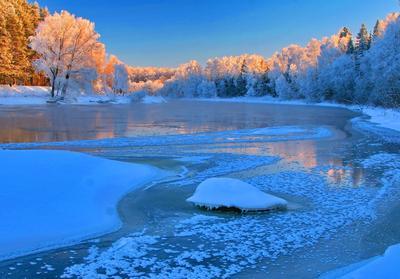 Зимний пейзаж Зимний пейзаж Руза Подмосковье
