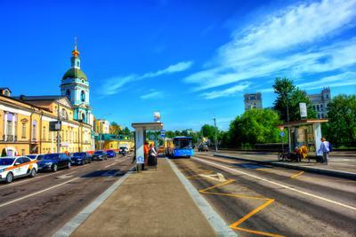 Теплый майский день Москва май тепло