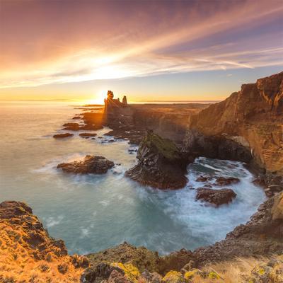 #246 Iceland, Sunset on Londrangar
