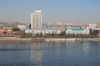Енисейское Параходство Мой город Красноярск