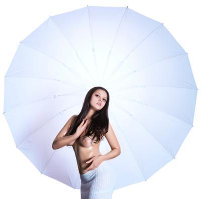 С наступающим НГ всех) девушка модель ню парабола зонт студия блеск мед