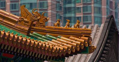 Пекинские крыши