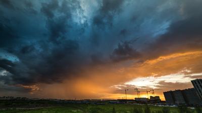 Закаты Петербурга Закат Петербург облака небо горизонт sky clous sun rise sity