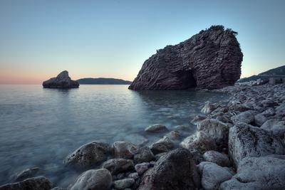 Черногория Черногория Бечичи пейзаж море лето