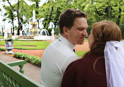 Медовый месяц свадьба молодые