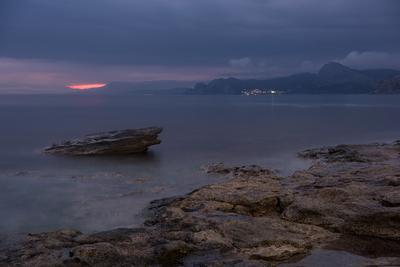 Наступает ночь Крым Новый Свет Фотопленер