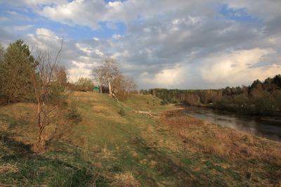 Вид на деревню Старово