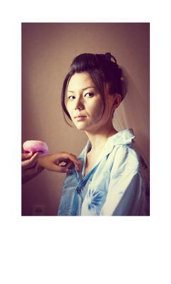 Asian girl portrait asian girl bride