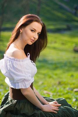 * весна девушка Даша