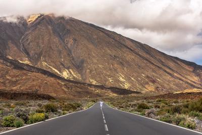 Дорога на Тейде Тенерифе Канарские острова