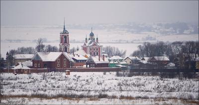 Зима в Переславле переславль-залесский церковь сорокосвятская