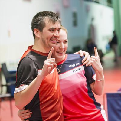 Мы - первые! настольный теннис пинг-понг спорт table tennis ping-pong sport girl