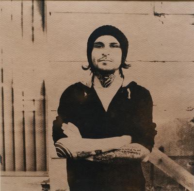 Мастер тату Александр French цианотипия, cyanotype