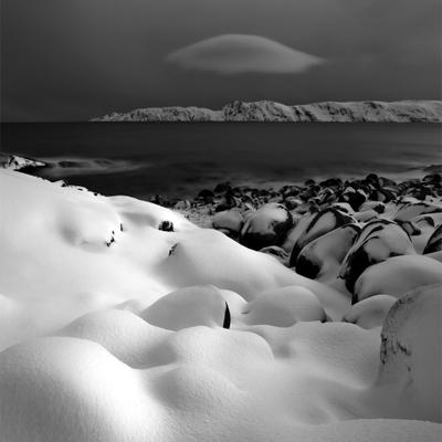 Опознанный Летающий Объект Териберка снег Арктика Баренцево нло