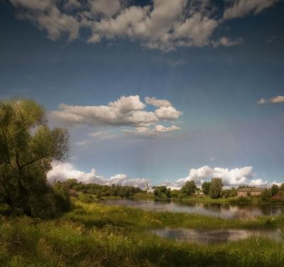 Берег реки Селижаровка. Landscape