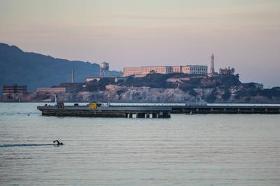 Побег из Алькатраса Тюрьма музей Алькатрас Сан-Франциско США