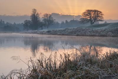 Однажды морозным утром ирландия рассвет фототур иней мороз
