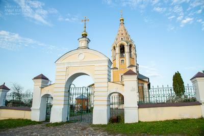Церковь Рождества Богородицы храм церковь архитектура Городня