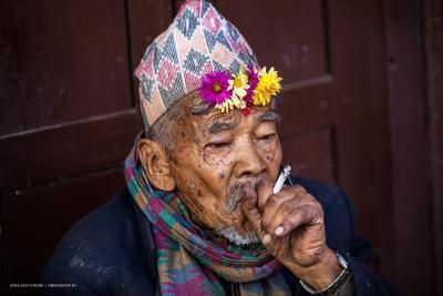 Портрет из Бхактапура непал гималаи бхактапур портрет человек