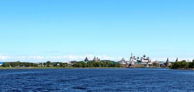 Посёлок и монастырь Соловецкий соловки