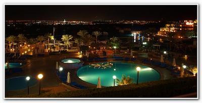 Ночной Шарм ночь, море, курорт, Шарм-эль-Шейх, Египет